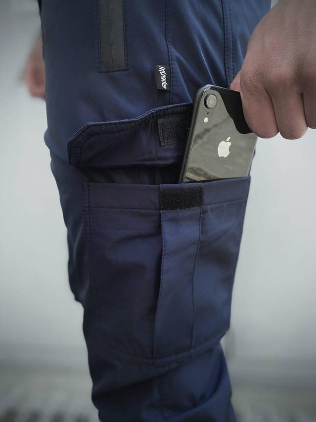 """Мужские штаны синие Intruder """"Flash Light"""", фото 2"""