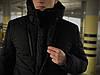 Куртка мужская зимняя черная Intruder Everest, фото 2