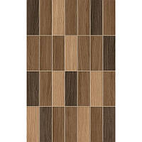 Плитка Golden Tile KARELIA brown МОЗАІКА 250*400