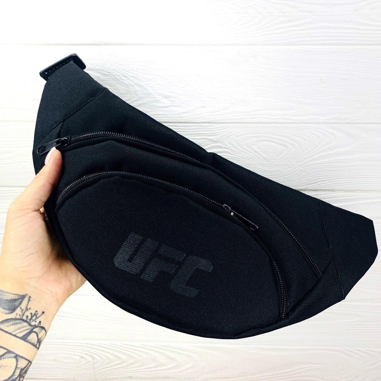 Бананка Мужская   Женская   Детская Reebok UFC черная рибок ЮФС