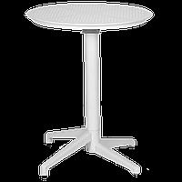 Стол с откидной столешницей Tilia Moon-S d70 см белая слоновая кость, фото 1