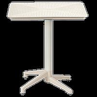 Стол с откидной столешницей Tilia Moon 70x70 см цвет кофе, фото 1
