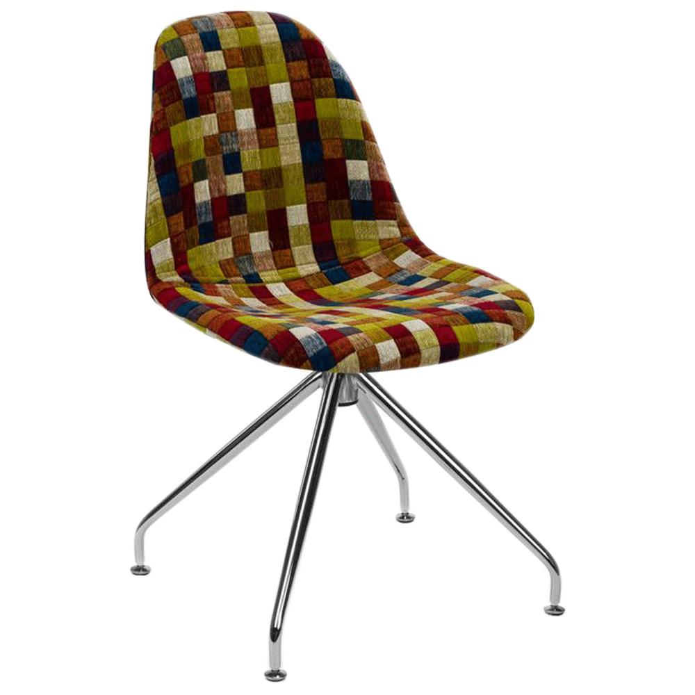 Стілець Tilia Eos-Z сидіння з тканиною, ніжки металеві COLOURBOX 7701