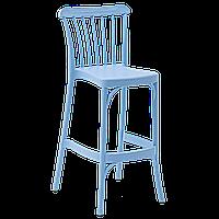 Стілець барний Tilia Gozo 75 см світло-синій, фото 1