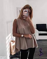 Легкая расклешенная блуза