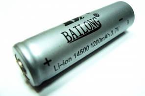 Аккумулятор 14500, аналог пальчиковых батареек, производство Китай
