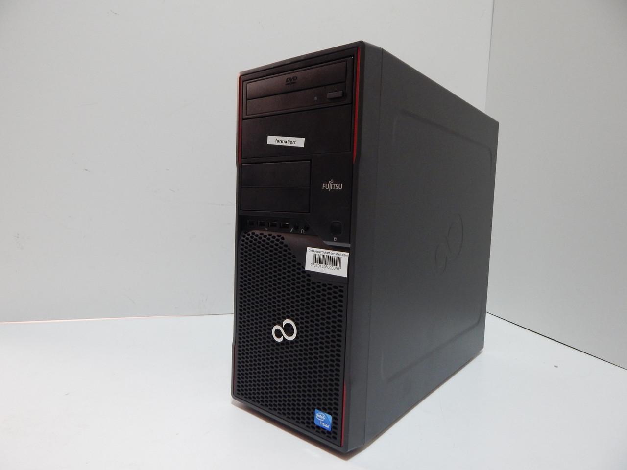 Системный блок Fujitsu Esprimo P710 E85+ Tower i5-3470, 4GB RAM, socket 1155