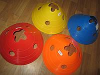 Фишка спортивная дисковая с отверстиями для шанг ( h-14 см)