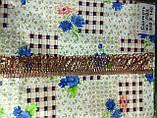Скатертина-клейонка на кухонний стіл з пвх 110-140, фото 8
