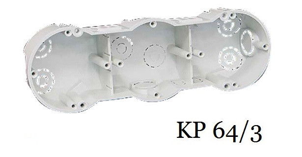 Коробка установочная KOPOS KP 64/3