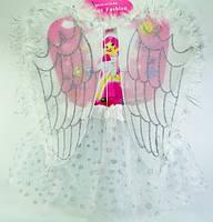 Костюм Белый ангел для девочки (юбка, крылья), фото 1