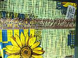 Скатерть-клеенка на кухонный стол из пвх 110-140 , фото 2