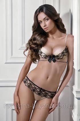 Чорно- золотий комплект жіночої білизни JILL 1140 67 від ТМ Jasmine Lingerie 5f089953801c8