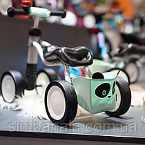 Детский велобег(беговел) Puky Wutsch Panda, с корзиной, звонком и подушечкой безопасности , Германия