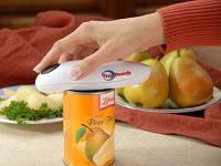 Инструкция на русском языке Электрический консервный нож Ван Тач (One Touch)