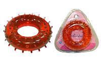 Эспандер кистевой Кольцо массажный (1шт) FS-9903 Hanghao (гелевый, d-3x8см, нагрузка 20кг)