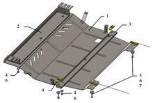 Защита двигателя Peugeot 301 2012-