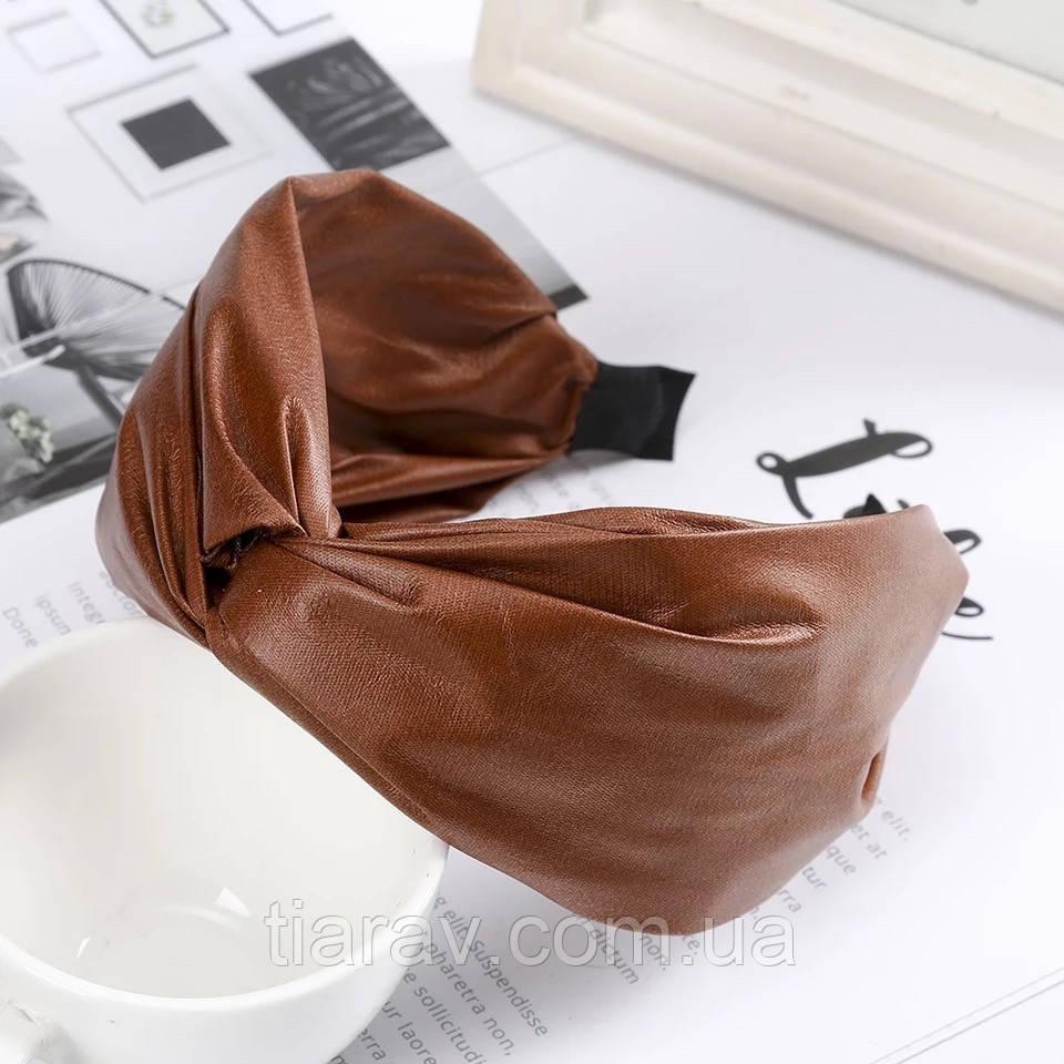 Обруч для волос под кожу, коричневый обруч для волос