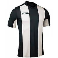 Футболка футбольная Joma PISA черно-белая 100403.100
