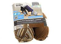 F04-330005, Нитки для вязания, 2 х 100 г, , коричневый-синий