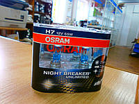Авто лампа OSRAM H7 64210 NBU Hard Duopet (2pc)