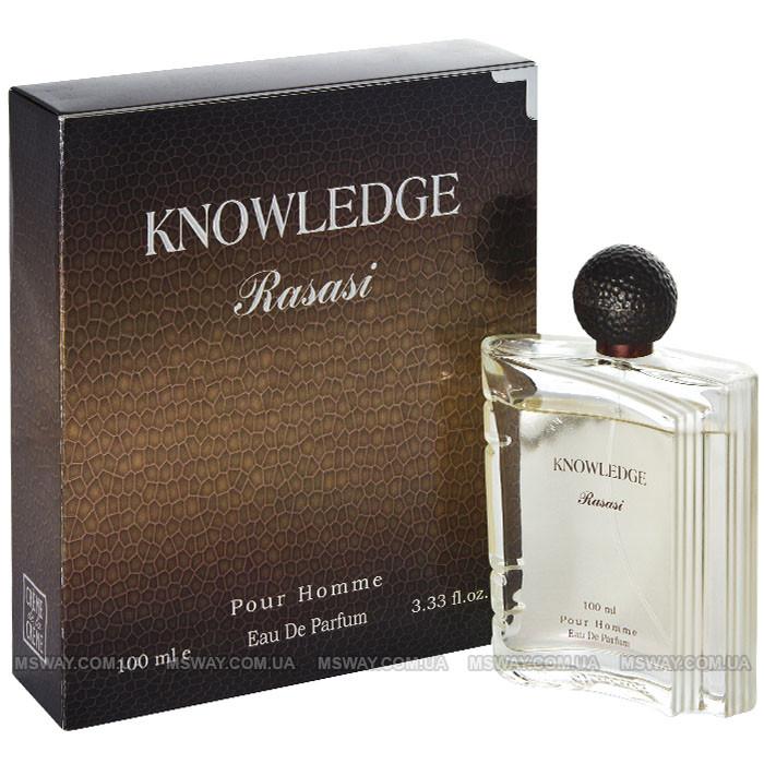 Rasasi - Knowledge EDT 100ml (туалетная вода) мужская