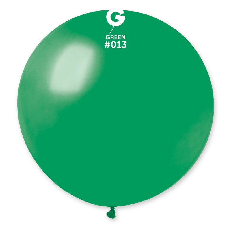 "Шар 31"" (80 см) Gemar пастель 13 зеленый (Джемар)"