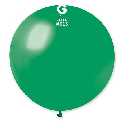 "Шар 31"" (80 см) Gemar пастель 13 зеленый (Джемар), фото 2"