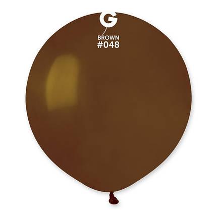 """Шар 31"""" (80 см) Gemar пастель 48 коричневый (Джемар), фото 2"""