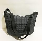 Стильные стеганные сумки 1змейка (3цвета)25*33см, фото 2