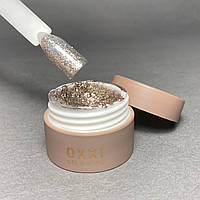Гель глиттерный с блестками для ногтей Oxxi Professional №1