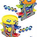 Скоростной спуск Гоночный трек Паркинг с машинками 5 уровней, фото 6