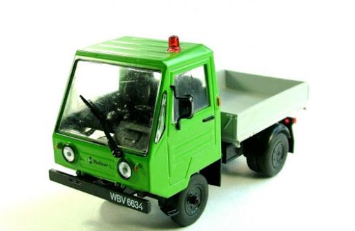 Автолегенды №167 MULTICAR M25 (ГДР) зеленый | Коллекционная модель 1:43 | DeAgostini