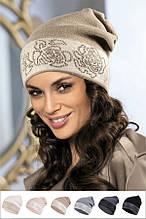 Красивая шапка со стразиками от Kamea - Liliana.
