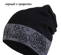 Красивая шапка со стразиками от Kamea - Liliana., фото 2