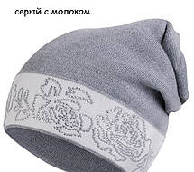 Красивая шапка со стразиками от Kamea - Liliana., фото 3