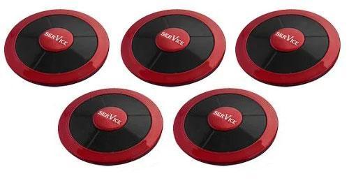 Фото: кнопки виклику офіціанта R-650 Мазераті - 5 штук - комплект системи виклику RECS №55