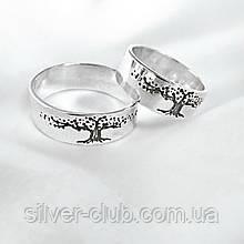 1063 Кольцо Древо Жизни, серебро 925 пробы
