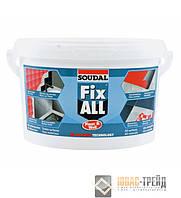 ТМ SOUDAL FIX ALL Floor & Wall Эластичный клей-герметик для напольных покрытий (ТМ Соудал ),4кг.