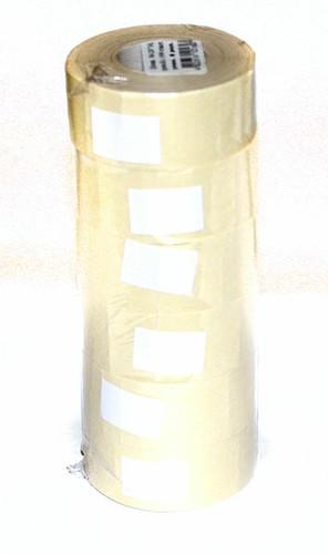 Ценник N4 26 х 16мм прямоугольный белый 1000 штук