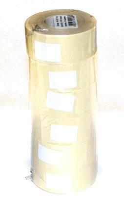 Ценник N4 26 х 16мм прямоугольный белый 1000 штук, фото 2