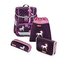Ранец Hama Step by Step 2in1 Unicorn Единорог ортопедический рюкзак для младшей школы