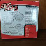 Складная решетка для приготовления пищи Chef Basket (Шеф Баскет), фото 2