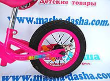 Беговел детский BB003 Balance Bike надувные колеса, фото 2