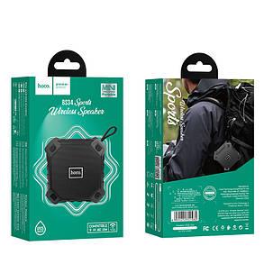 Портативная акустика HOCO sports BT5.0 IPX5 BS34 |AUX, TF CARD, FM, USB| Black, фото 2
