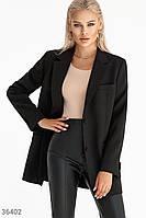 Классический однобортный пиджак XS S M L