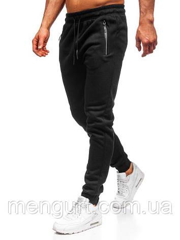 Штани спортивні чоловічі утеплені, фото 2