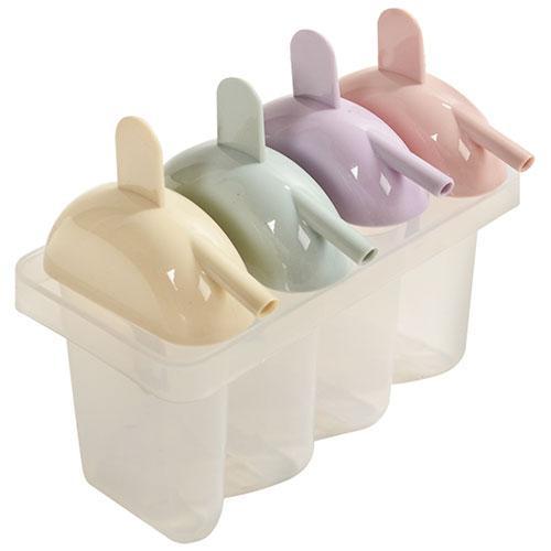 Формы для мороженого пластик 4шт/наб 14*14*8см