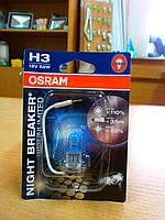 Авто лампа OSRAM H3 64151 NBU-01B 12V 55W PK22s