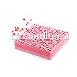 Cиликоновый коврик для мастики LOVE MAT с текстурой сердечек (585x385 мм), фото 2